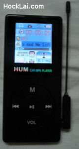 HUM MP4 Car Player